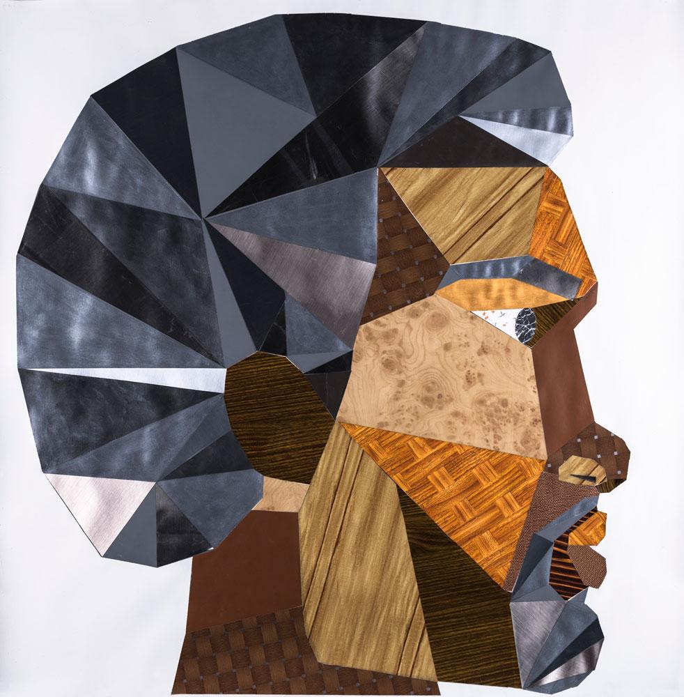 Derrick Adams - Head #4
