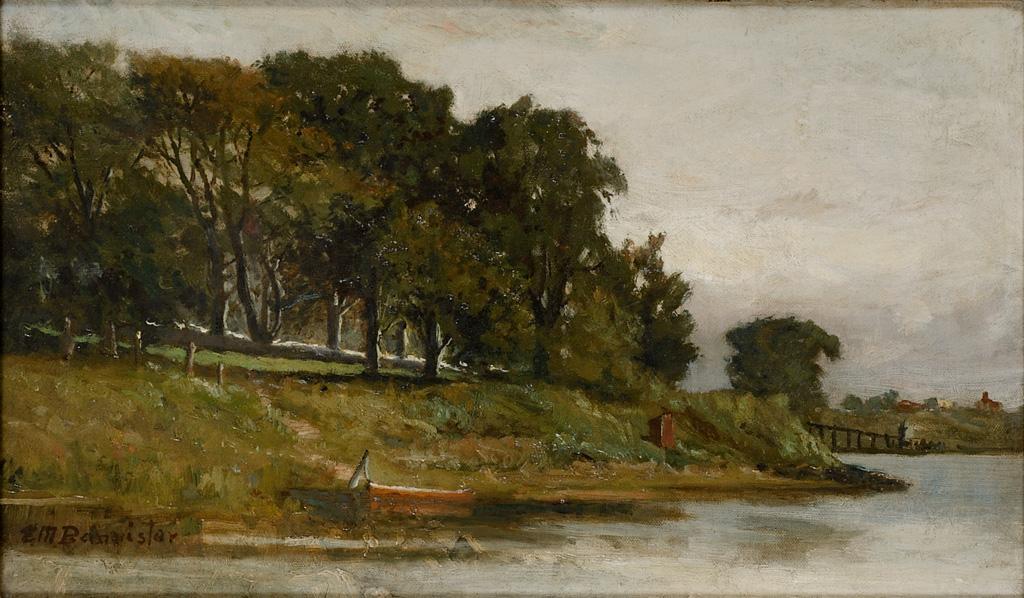 Edward Bannister - Untitled Landscape